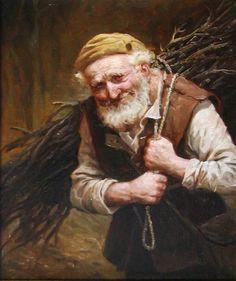 (Andrey Shishkin) - За хворостом, автор Шишкин Андрей. Артклуб Gallerix