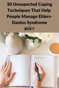 30 Unexpected Coping Techniques That Help People Manage Ehlers-Danlos Syndrome #eds #chronicillness Chronic Illness, Chronic Pain, Fibromyalgia, Ehlers Danlos Syndrome, Rare Disease, Invisible Illness, Helping People, Health Tips, Pots