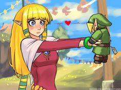Speed Sketch - Zelda's favorite toy by RoninDude Zelda Skyward, Skyward Sword, Link Zelda, The Legend Of Zelda, Legend Of Zelda Breath, Metroid, Breath Of The Wild, Girls In Love, Pretty Girls