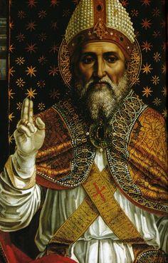 Leonardo da Vinci as Saint Siro, Bishop of Pavia