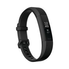 Fitbit Alta Heart Rate Activity Tracker Black Small - Gunmetal (Grey)