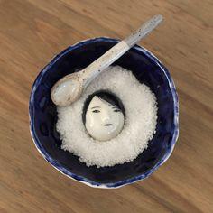 Buried Under The Snow salt dish Rami Kim