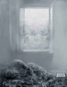 "Mania Efstathiou, ""Monitored Solitude Vol. II"", digitally generated image on plexi, paraffin wax Paraffin Wax, Solitude, Plexus Products, Digital, Painting, Image, Art, Art Background, Painting Art"