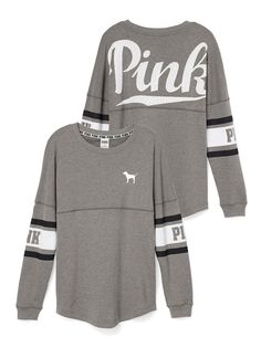 Varsity Crew - PINK - Victoria's Secret : would want either gray,teal, red, or light blue