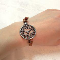 la vie en rose: EASY + CHEAP! DIY Leather Charm Bracelets