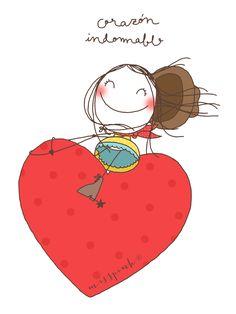 Corazón indomable | misspink.es