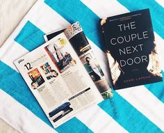 """The twists come as fast [as] you can turn the pages."" @People on #TheCoupleNextDoor one of their end-of-summer beach reads"