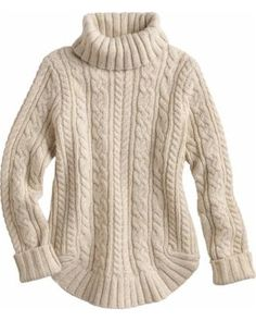 Duluth Trading Women's Fisherman Turtleneck Sweater from Duluth Trading Co.   ShapeShop