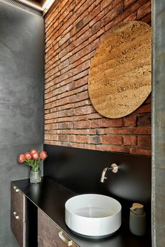 401_Circular Brick House With Rammed Earth Wall - Picture gallery