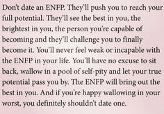 ENFP dating site