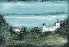 Jerzy Nowosielski |  | oil, canvas | 24 x 35 cm