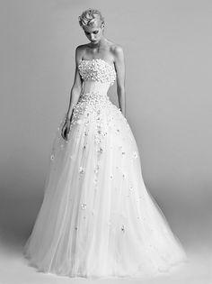 Flower Sprinkle Gown