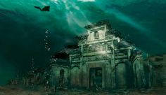 DID YOU KNOW? An ancient town lost in the water actually exists in Hangzhou, within the water area of Qian Dao Hu. #hangzhou #china #asia #travel #explore #traveler #qiandaohu