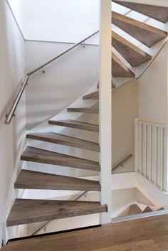 Prachtige zolder trap renovatie