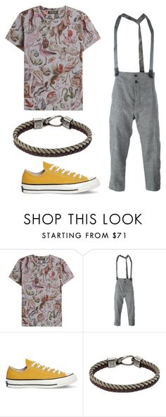 """""""14"""" by joshua-little on Polyvore featuring Valentino, Lost & Found, Converse, Tod's, men's fashion and menswear"""