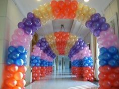 Balloon Decoration - Quinceanera Decorations in Houston TX
