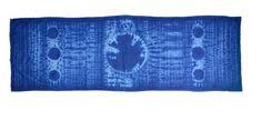 Pañuelos - Pañuelo cuello estampado - hecho a mano por indigoestampacion en DaWanda 15,00€
