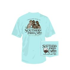 Southern Fried Cotton Best Friends T-shirt CHALKYMINT
