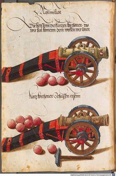 Zeugbuch Kaiser Maximilians I Innsbruck, um 1502 Cod.icon. 222  Folio 38v