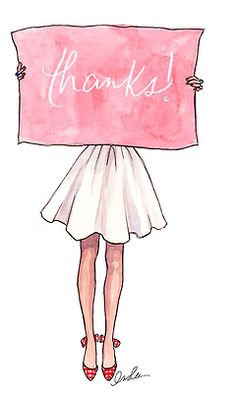 Imagem de thanks, drawing, and pink