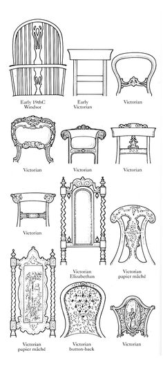Victorian Chair, Victorian Furniture, Antique Furniture, Furniture Makeover, Diy Furniture, Painted Furniture, Furniture Design, Antique Chairs, Vintage Chairs