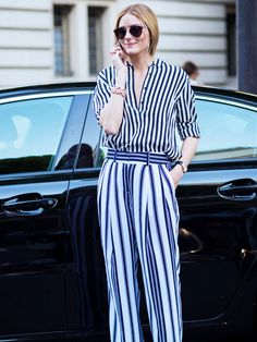 Stripes: A Shopping and Styling Guide to the Most Reliable Print via @WhoWhatWearUK  InStyle Germany / Deutschland - Streifen Trend, der nie ausstirbt