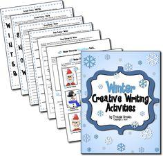 Classroom Freebies: Creative Writing Activities for Winter