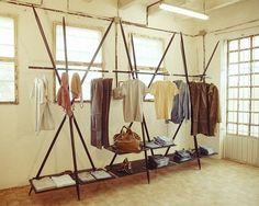 Flat pack Store interiors