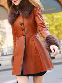 Rule the streets with this Luxury Woman's Pockets Coat with Fur Collar from @milanoocom - Plus, shop at DealAction & earn CASH BACK!!
