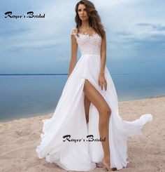 Cheap bridal gown, Buy Quality beach wedding dress directly from China vestidos de novia Suppliers: Notice: All sizes take by hand. Measurement will be 1 to 3cm difference by different way. Delive