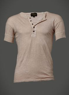 Sheehan & Co. Vintage Revival Drop Shoulder Henley