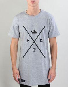 SPEAR TEE 100% Cotton Tall T-shirt. Sizes M, L, XL, XXL