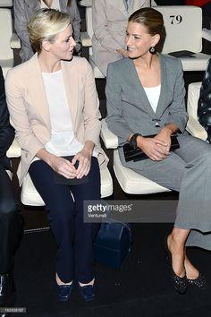 News Photo : Princess Charlene of Monaco and Tatiana Blatnik...
