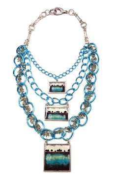I LOVE RESIN: Painting to Wearable Art Keepsake Necklace!
