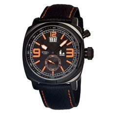 I.s Men's Leather Watch