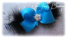 Tiffany inspired headband by Two Tiara's Bowtique on Etsy or Facebook group Tiffany & Co first birthday