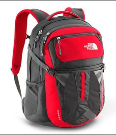 The North Face Recon Backpack in TNF Red / Asphalt Grey - CLG4