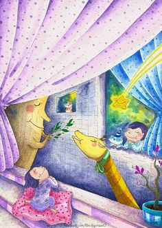 『只要對著流星許願,願望便會成真。』  別說我們太貪心,也別笑我們愛做夢, 就是因為擁有希望與夢想, 我們才有勇氣繼續向前走。  挖呀~流星!大家快來許願吧! 記得夢想大一點,說不定真的會實現呢!