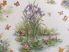 Vintage Gift Wrapping Paper  Wildflowers by TheGOOSEandTheHOUND