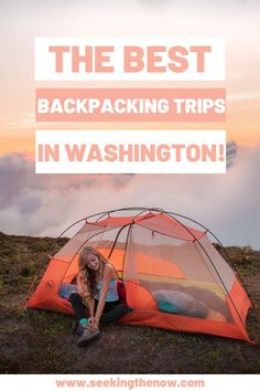 A list of the very best backpacking trips I have been on near Seattle!! These honestly all took my breath away! Washington Camping, Backpacking Trails, Adventure Aesthetic, Wanderlust, Hiking Quotes, Adventure Travel, Adventure Quotes, Adventure Photography, Simple
