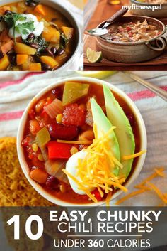 These chili recipes
