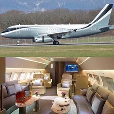 The Airbus Exclusive. The Airbus Exclusive. Luxury Jets, Luxury Private Jets, Private Plane, Private Jet Interior, Luxury Helicopter, Private Flights, Aircraft Interiors, Luxe Life, Luxury Travel