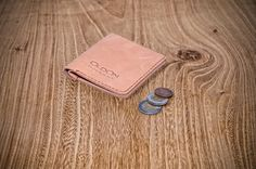 Mens leather wallet, Mens leather bifold, Classic leather billfold, Front Pocket Slim Design, Minimalist Credit Card Walle, Hand Stitched by OldOnLeather on Etsy