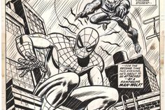 This exhibition invites you to seehow the comic-book art of Steve Ditko, John Romita, Todd McFarlane and other visionaries involved in drawing...