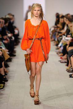 La tendance orange mode printemps-été 2016
