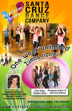 Fitness Flyer  Zumba Classes