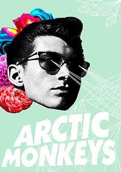 Arctic Monkey - Alex Turner by madisonrankinx