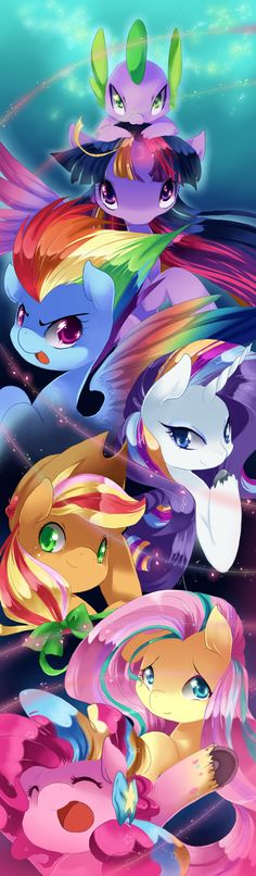 Mlp Rainbowfied