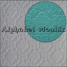 Damask Impression Mat by Alphabet Moulds UK