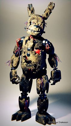 Yes this is the real me. Yeah just run away as always -Springtrap